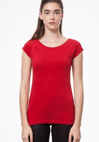 ThokkThokk Damen T-Shirt Rot Bio Fair