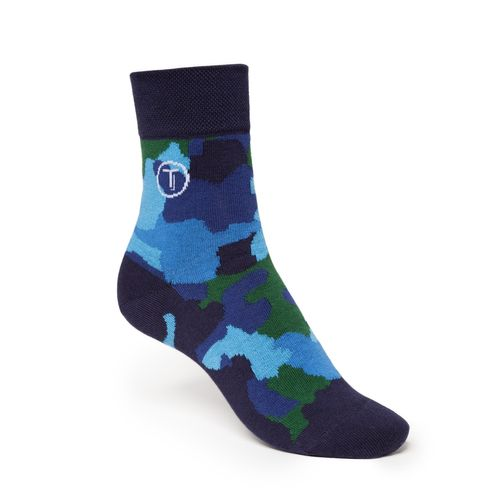 ThokkThokk 3er Pack Mid-Top Socken Camo/Black/Blue