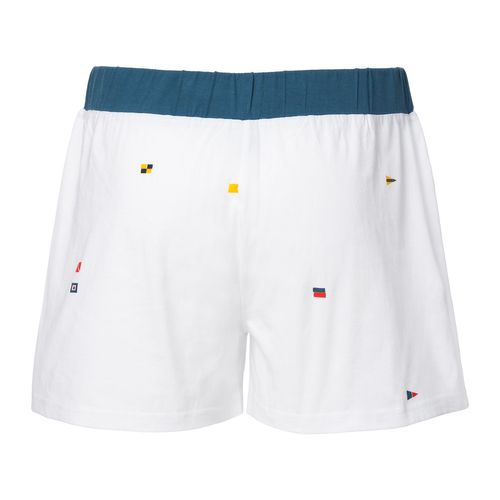 ThokkThokk Flags TT31 Button Boxershorts White made of organic cotton // GOTS and Fairtrade certified