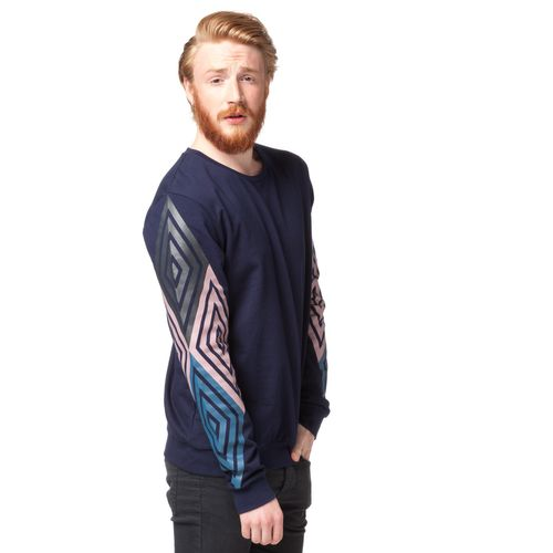 ThokkThokk TT29 Diamond Sleeves Pullover midnight made of 100% organic cotton // GOTS and Fairtrade certified