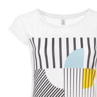 Bild 6 - Art Déco Miami Cap Sleeve white GOTS & Fairtrade