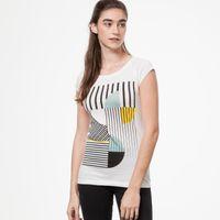 Bild 3 - Art Déco Miami Cap Sleeve white GOTS & Fairtrade