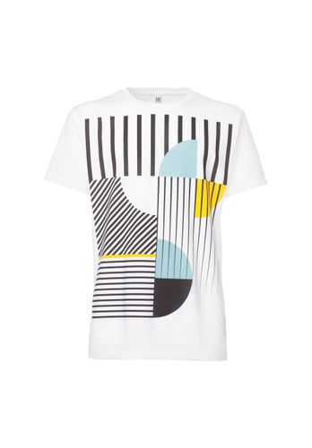 ThokkThokk Art Déco Miami T-Shirt white made of 100% organic cotton // GOTS and Fairtrade certified