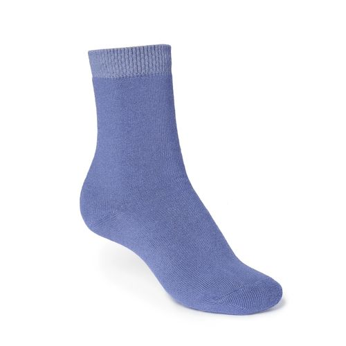 ThokkThokk Plain High-Top Plüsch Socken lavender