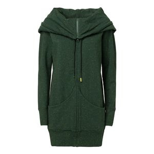 ThokkThokk TT1013 Yuki Zipjacket Swamp Green Fairtrade GOTS