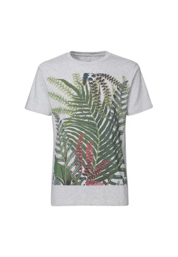 ThokkThokk Herren T-Shirt Jungle Hellgrau Bio Fair