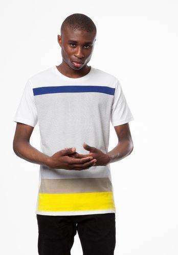 ThokkThokk Sunrise T-Shirt white made of 100% organic cotton // GOTS & Fairtrade