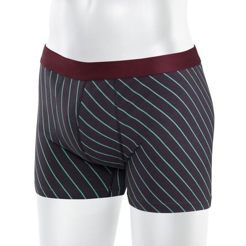 ThokkThokk Striped TT15 Boxershort Dark Grey made of organic cotton // GOTS and Fairtrade certified