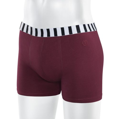 ThokkThokk TT15 Boxershort Bordeaux made of organic cotton // GOTS and Fairtrade certified