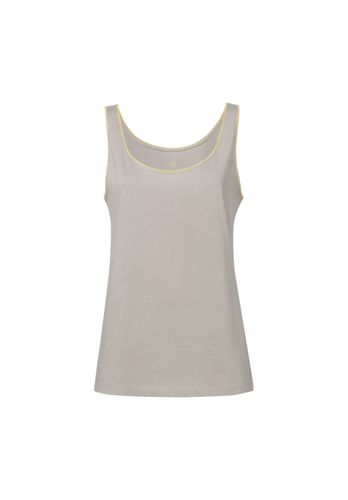 ThokkThokk Damen Tank Top Beige Bio Fair
