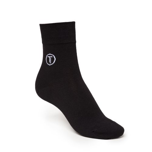 ThokkThokk 3er Pack Mid-Top Socken Black/Graphite/Midnight GOTS Fairtrade