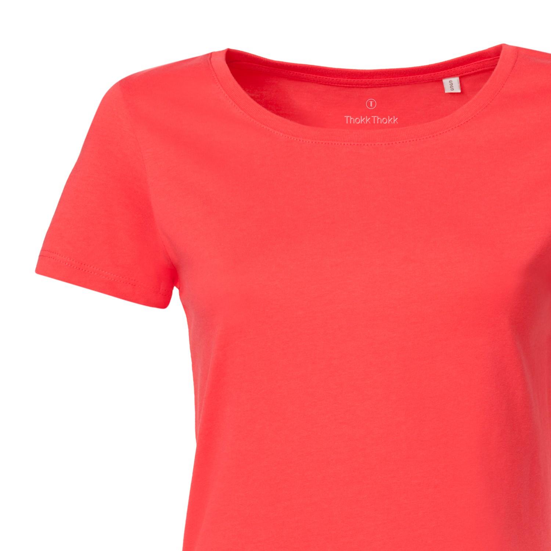Woman T Shirt Hibiscus Bio Fair Ko Ops Thokkthokk Basic