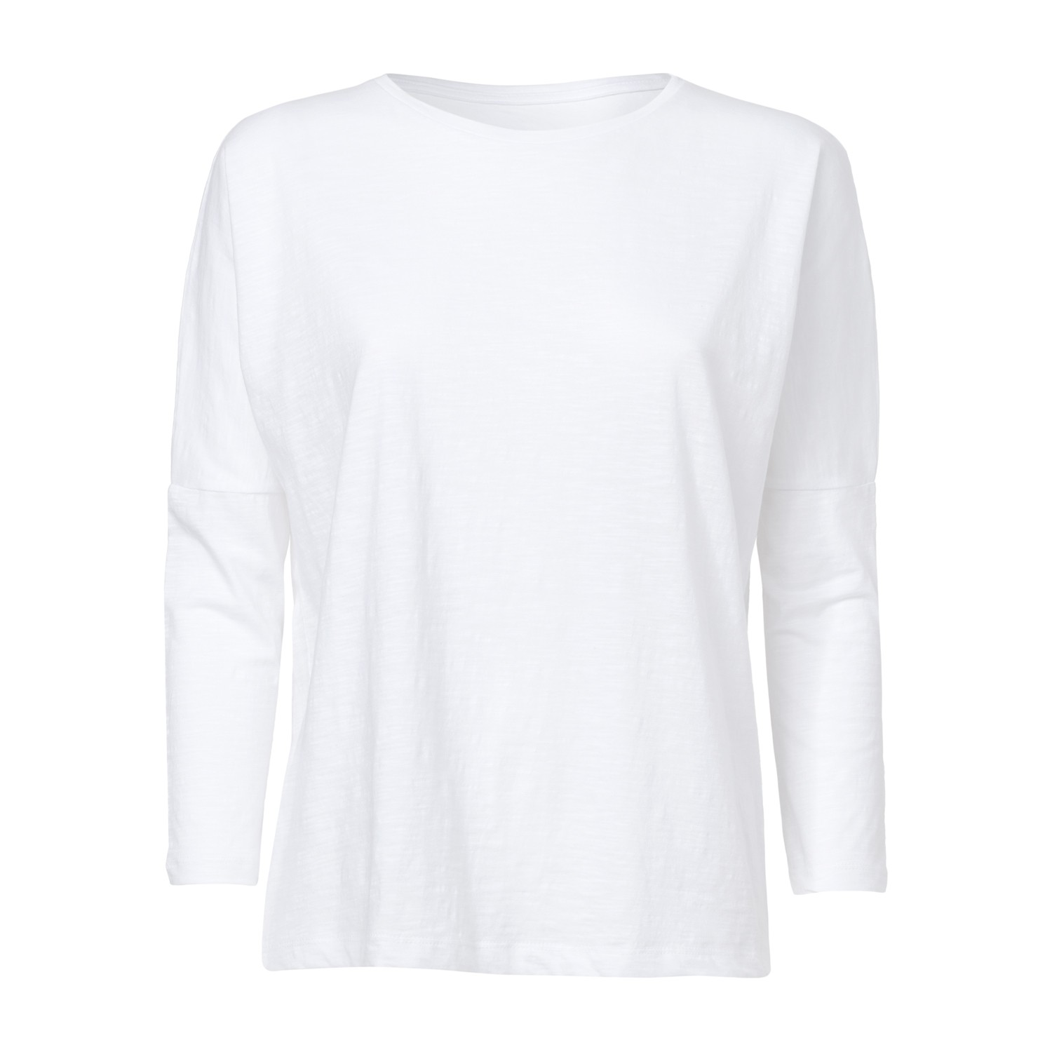 ThokkThokk Damen Drop-Shoulder Longsleeve White...