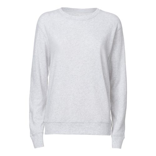 ThokkThokk Damen Rundhals Sweatshirt Heather Ash Bio & Fair