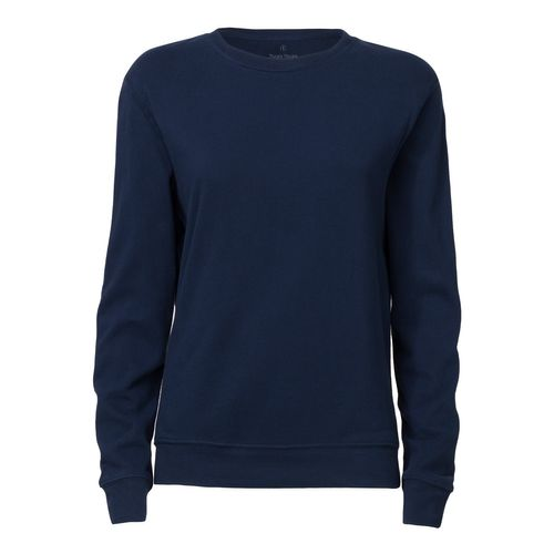 ThokkThokk Woman Crewneck Sweatshirt Navy Bio & Fair