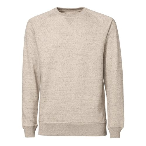 ThokkThokk Herren Raglan Sleeve Sweatshirt slub mid heather clay Bio & Fair