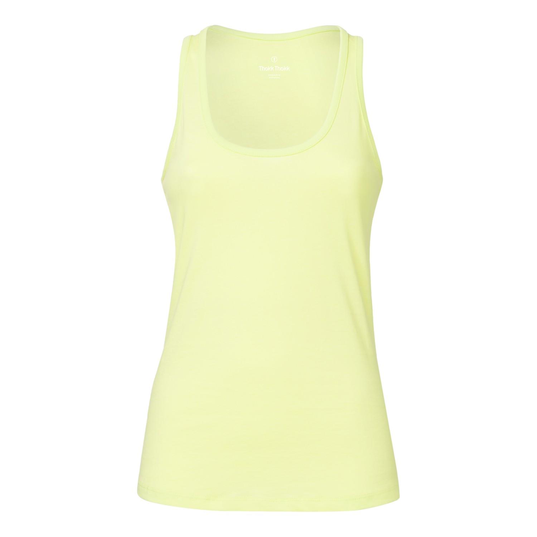 ThokkThokk Damen Tank Top Sunny Lime Bio & Fair