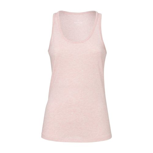 ThokkThokk Woman Tank Top Cream Heather Pink Bio & Fair
