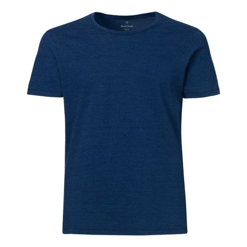 ThokkThokk Herren Denim T-Shirt Mid Washed Indigo Bio & Fair