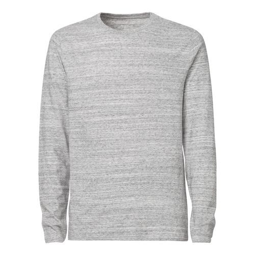 ThokkThokk Herren Longsleeve slub heather grey Bio & Fair