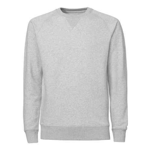 ThokkThokk Herren Raglan Sleeve Sweatshirt heather grey Bio & Fair