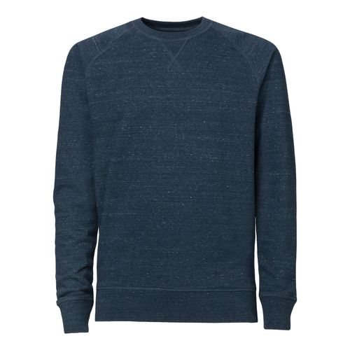 ThokkThokk Herren Raglan Sleeve Sweatshirt dark heather denim Bio & Fair