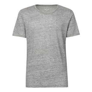 ThokkThokk Herren Leinen T-Shirt Linen Mid Heather Grey Fair