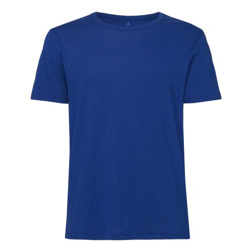 ThokkThokk Herren Modal Rundhals T-Shirt Deep Royal Blue Bio & Fair