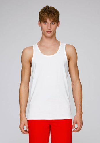 ThokkThokk Men Tank Top White Organic Fair