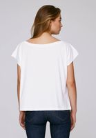 Bild 3 - Oversized Cropped T-Shirt White