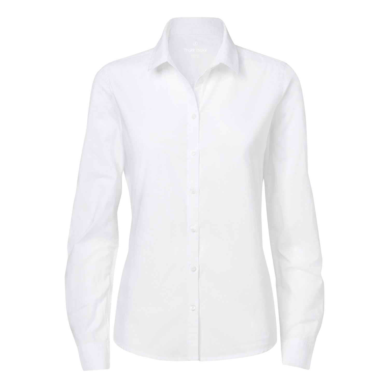 Damen Freizeithemd White Bio & Fair