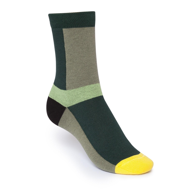 Layer High-Top Socken Green Bio