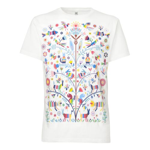 ThokkThokk Otomi T-Shirt white made of 100% organic cotton // GOTS and Fairtrade certified