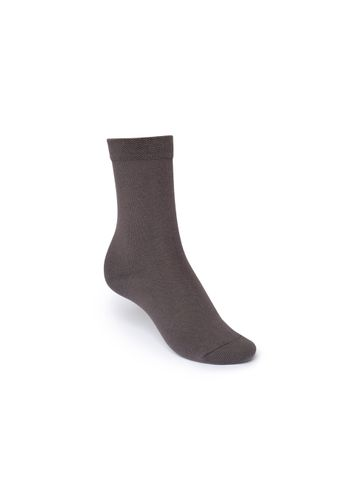 ThokkThokk Mid-Top Socks Dark Grey Bio