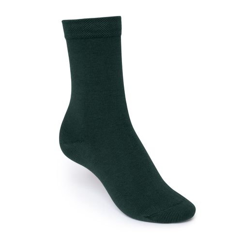 ThokkThokk Mid-Top Socks Dark Green Bio