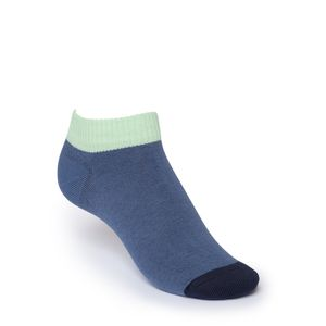 ThokkThokk Low-Top Socken Blue/Mint Bio