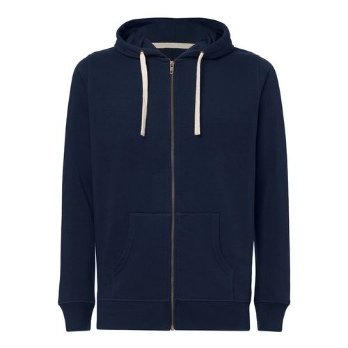 ThokkThokk Man Hooded Sweater Navy Bio & Fair