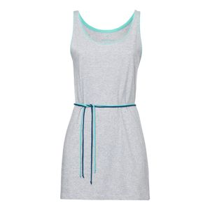 ThokkThokk TT34 Tank Top Dress Grey Melange Spotted GOTS Fairtrade