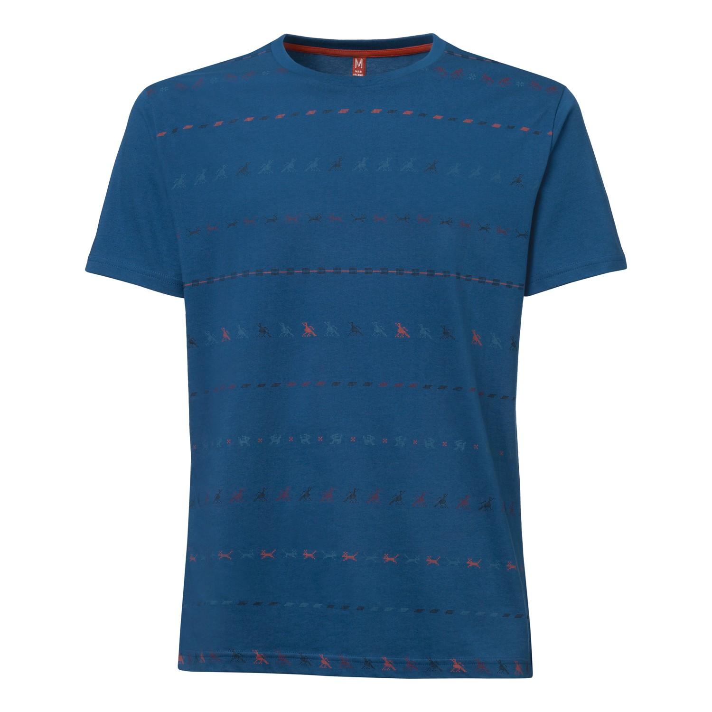 Tijuana T-Shirt peacock GOTS & Fairtrade