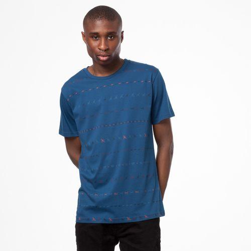 ThokkThokk Herren T-Shirt Tijuana Blau Bio Fair