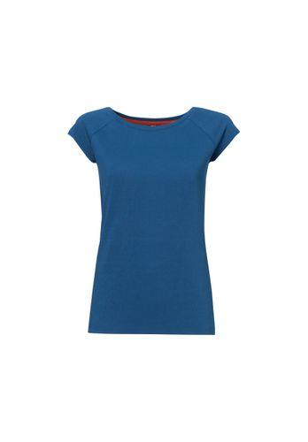 ThokkThokk Damen T-Shirt Blau Bio Fair