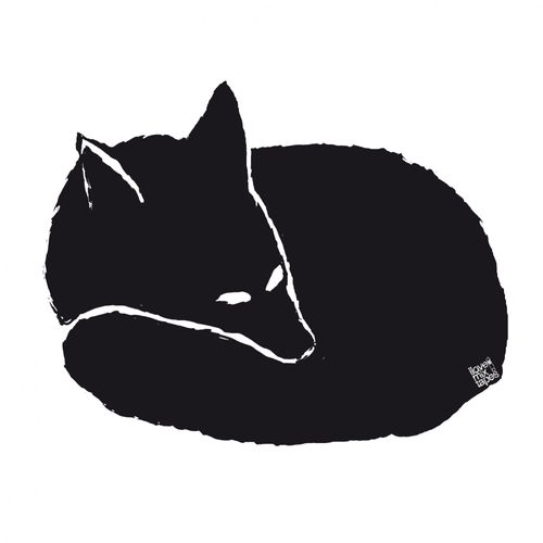 ilovemixtapes Fuchs T-Shirt Man white/dark grey made of organic cotton // Organic and Fair