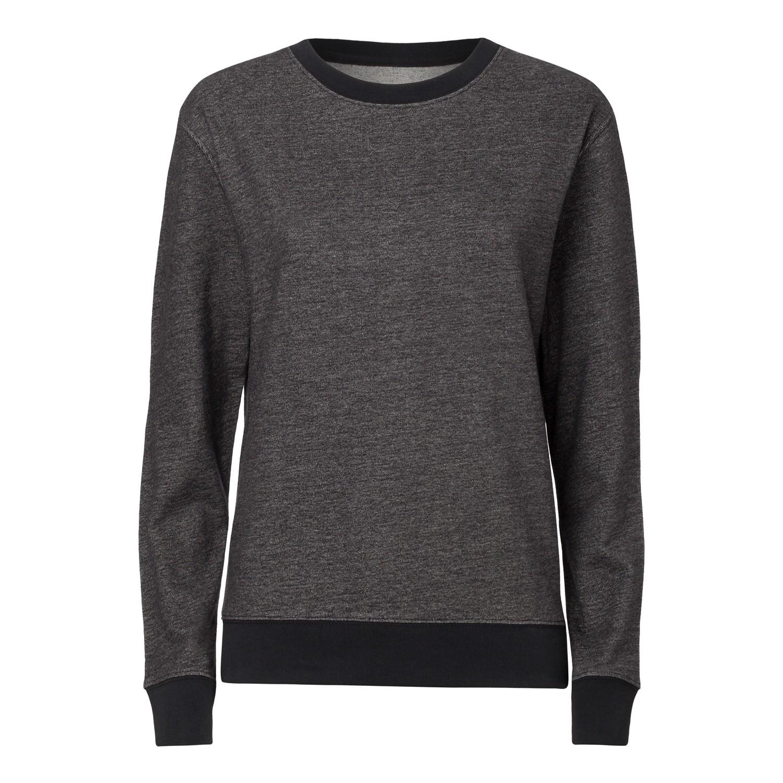 Damen Rundhals Sweatshirt stretch limo Bio   Fair KO-OPS ThokkThokk ... 40a69ada1399