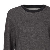 Bild 2 - Damen Rundhals Sweatshirt stretch limo Bio & Fair