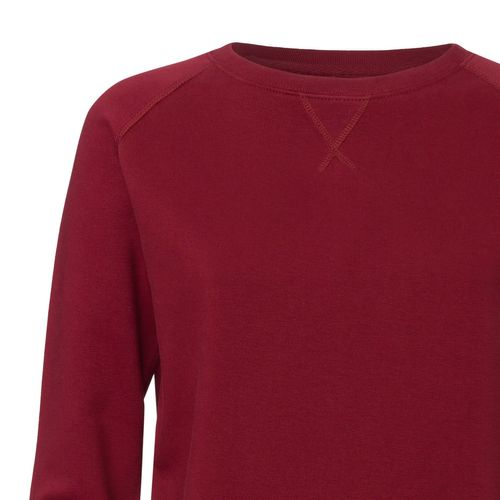 ThokkThokk Damen Sweatshirt Burgundy Bio & Fair