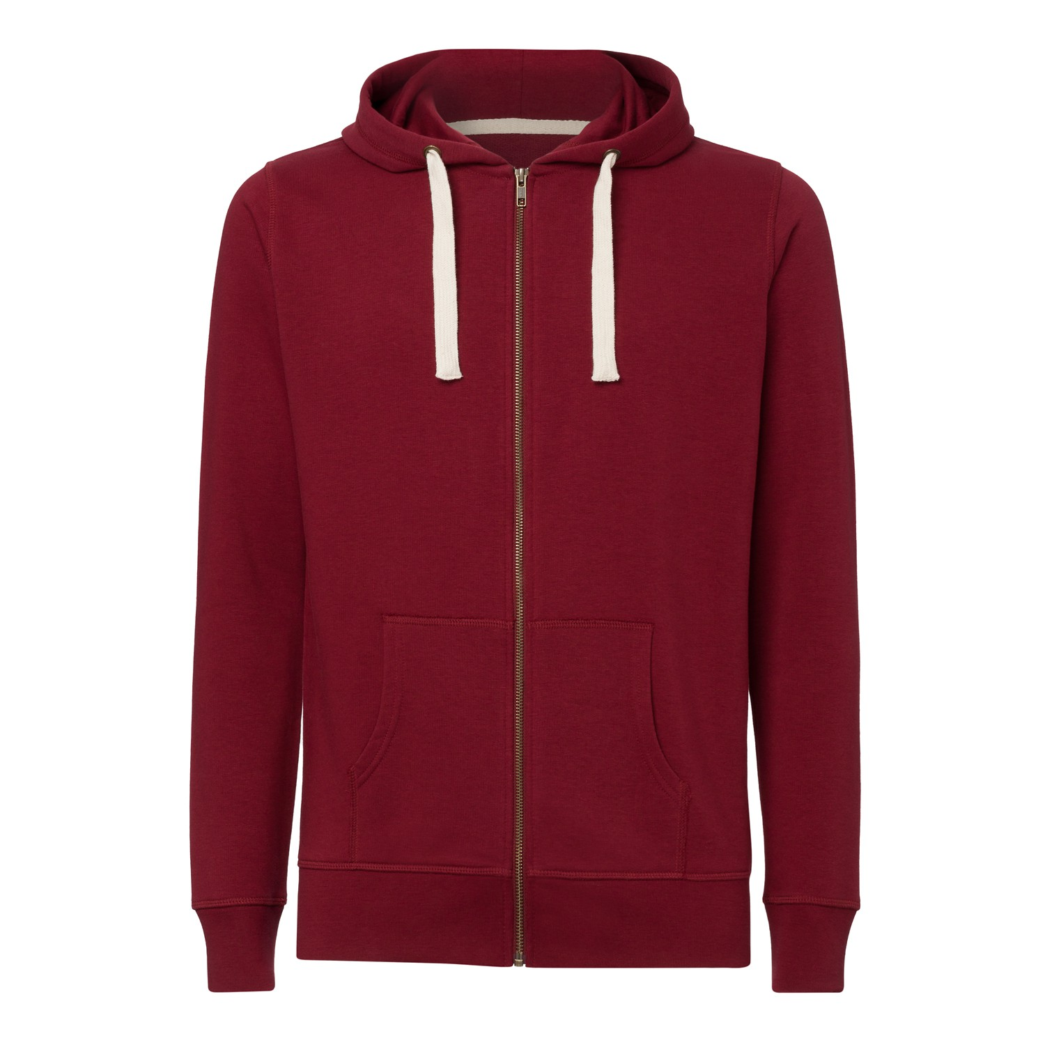 Man Hooded Sweater Burgundy Bio & Fair KO-OPS ThokkThokk ST Men ...