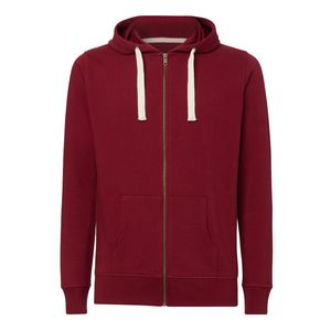 ThokkThokk Man Hooded Sweater Burgundy Bio & Fair