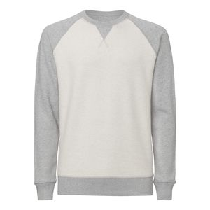 ThokkThokk Herren Inside-Out Sweatshirt Heather Grey Bio & Fair