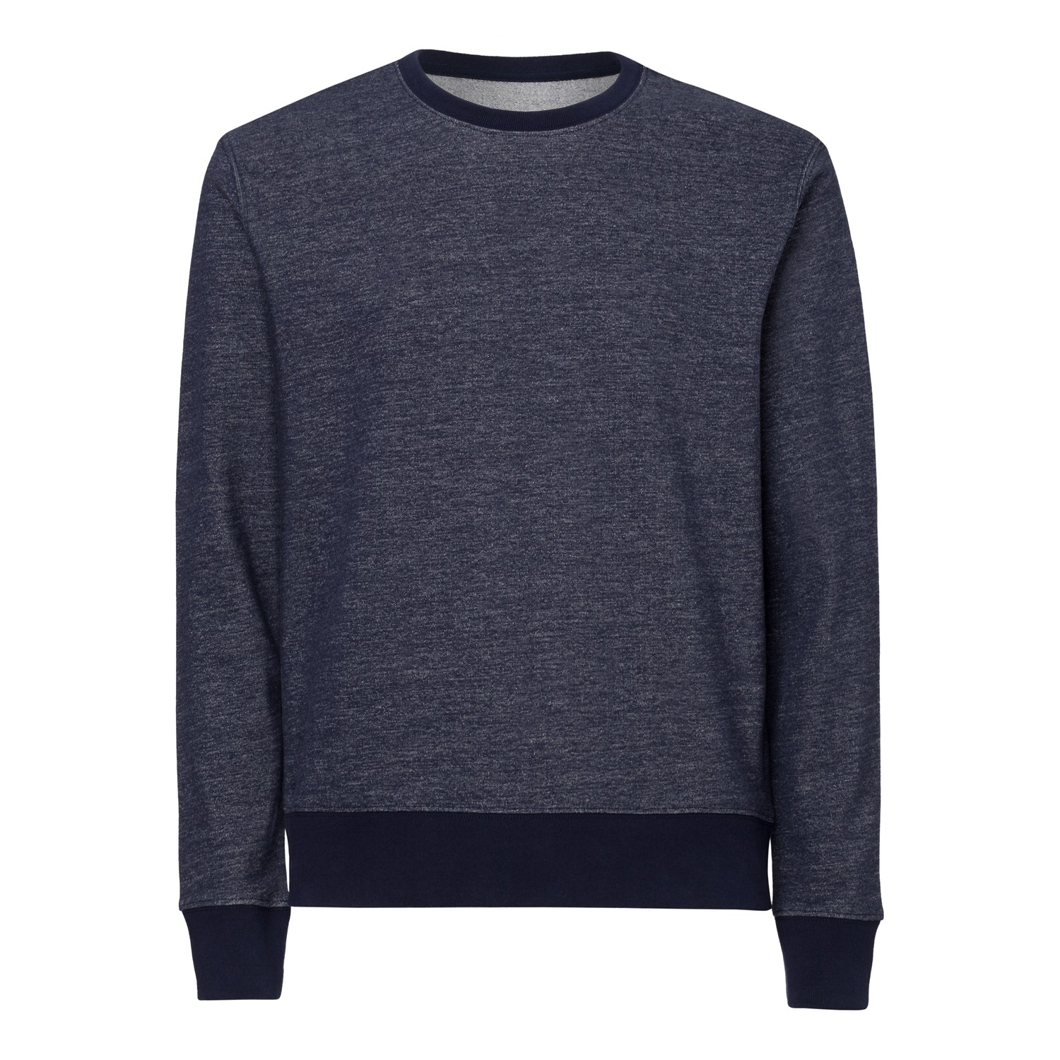Herren Round Neck Sweatshirt french navy Bio & Fair