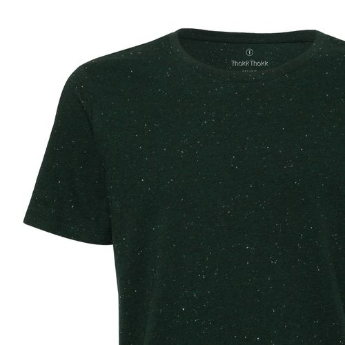 ThokkThokk Herren T-Shirt Heather Scarab Green Bio & Fair